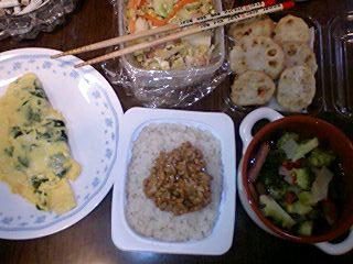 痔主のトメちゃんのブログ-今日の晩御飯090331_1